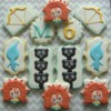 Brave Inspired Birthday Cookies