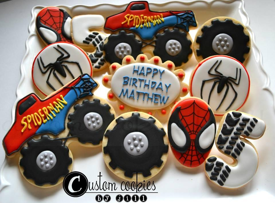 Spiderman Monster Trucks Cookie Connection