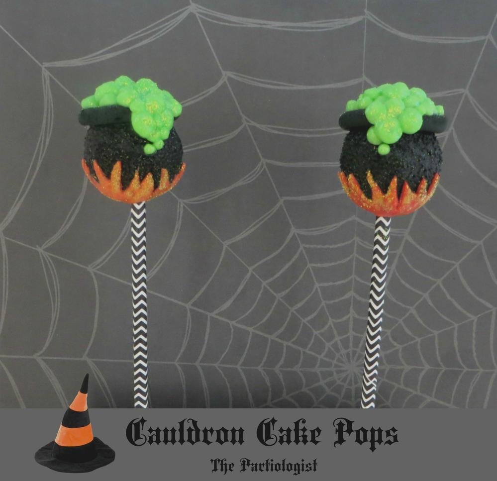 Cauldron Cake Pops!