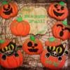 Kitties in pumpkins