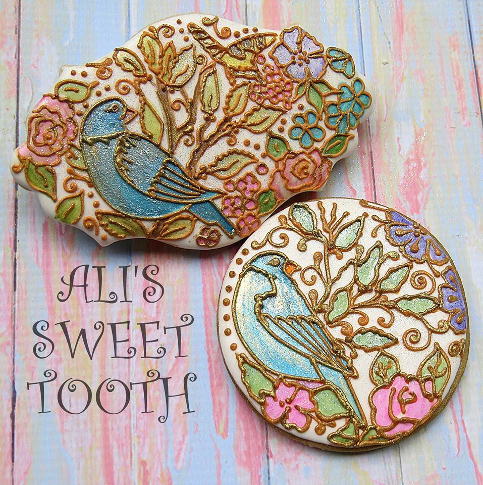 Ali's Sweet Tooth Secret Garden Cookies