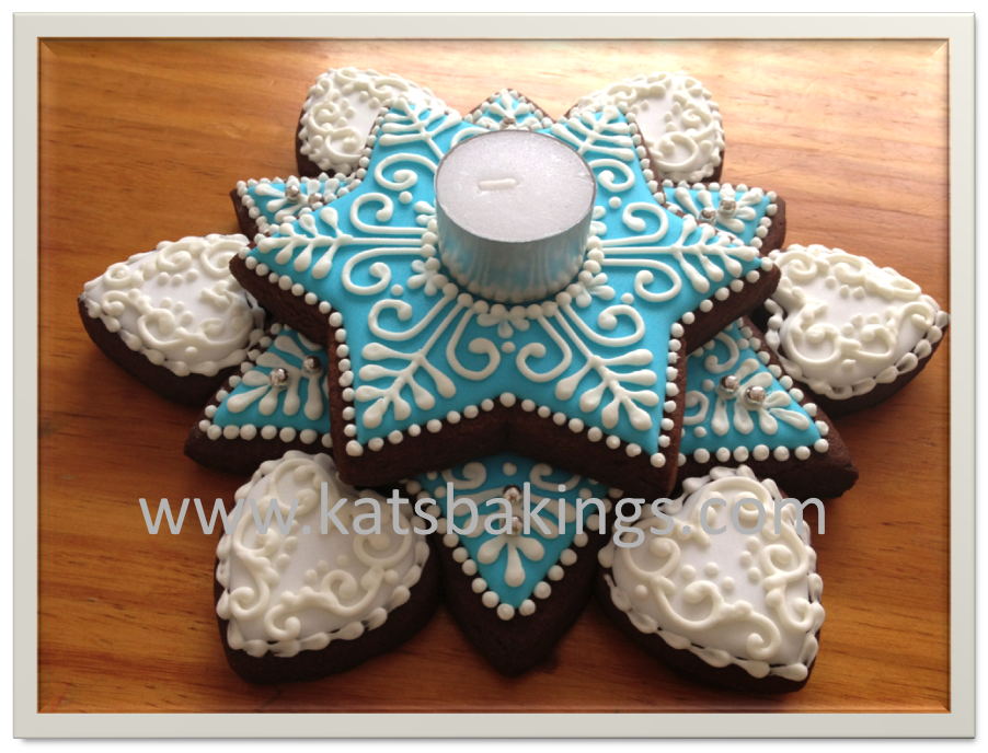 Christmas Star Cookie | Cookie Connection
