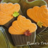Fall Birthday Cupcake
