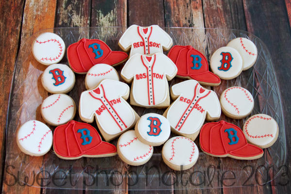 Boston Red Sox Cookies 4 Of 4 Cookie Connection