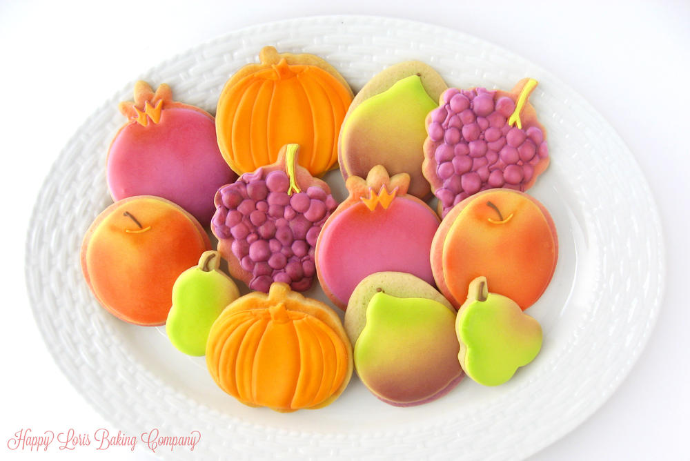 Fall produce cookies