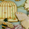 Birdcage and butterfly