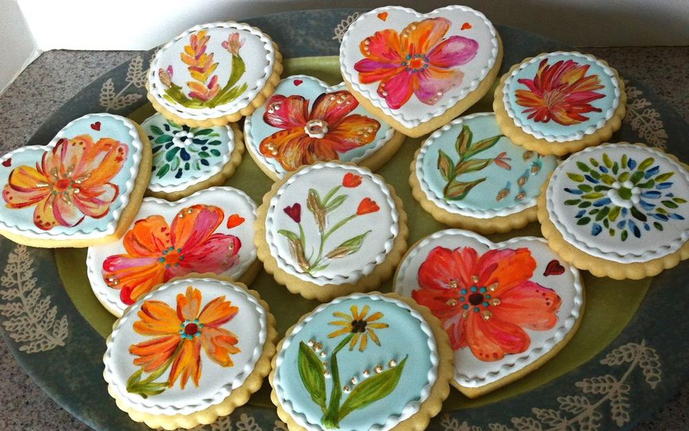 how to put edible image on royal icing