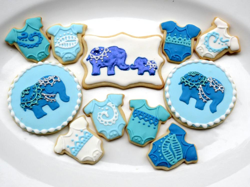 Indian Theme Baby Shower Cookie Connection