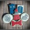 Dr. Who TV Show Cookies