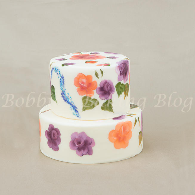 Learn the Beauty of Hand Painted Cakes and Cookies
