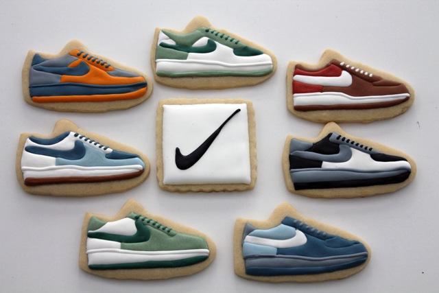 Nike Shoe cookies (1)