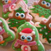 Christmas/Winter Owl Cookies