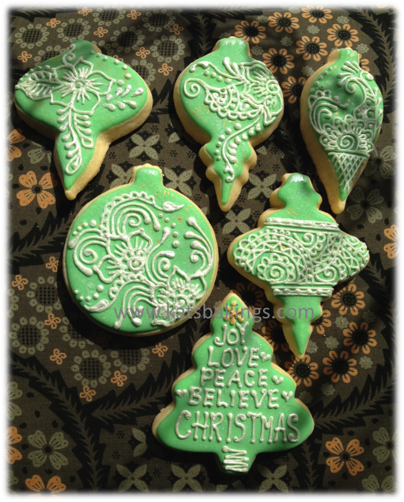 Christmas Ornaments Cookie Connection