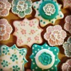 Pretty Floral Cookies