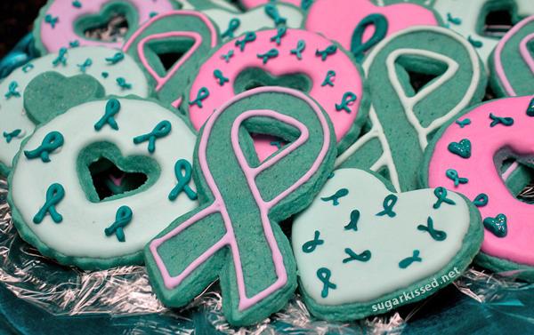 Homemade Cancer Awareness Sprinkles