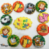 The Little People Farm Cookie Cupcake Toppers