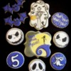 Jack Skellington birthday cookies