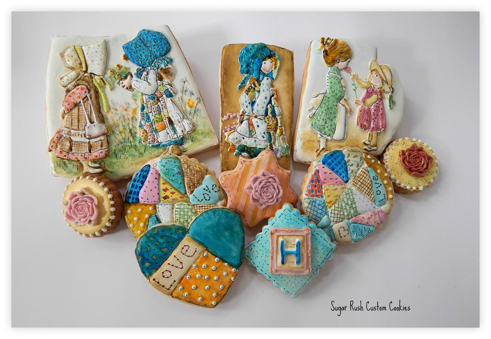 Holly Hobbie cookies