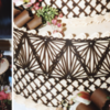 Lace Montage: Photos and Chocolate Work by Julia M Usher