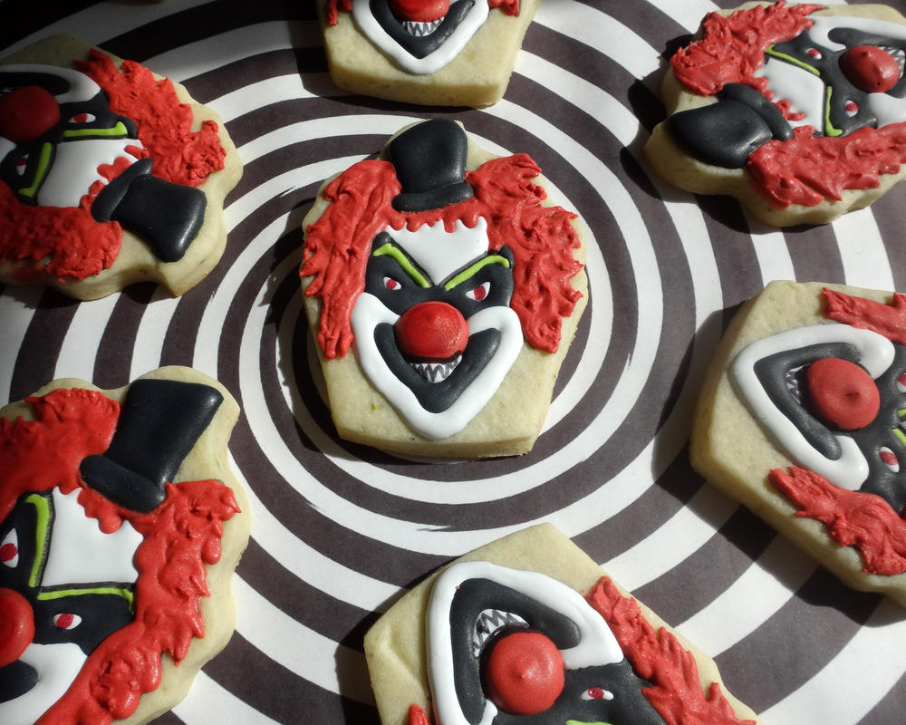 Creepy Clowns Cookie Connection