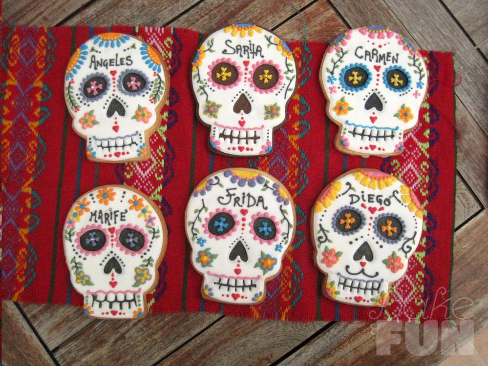 Sugar Skull Cookies