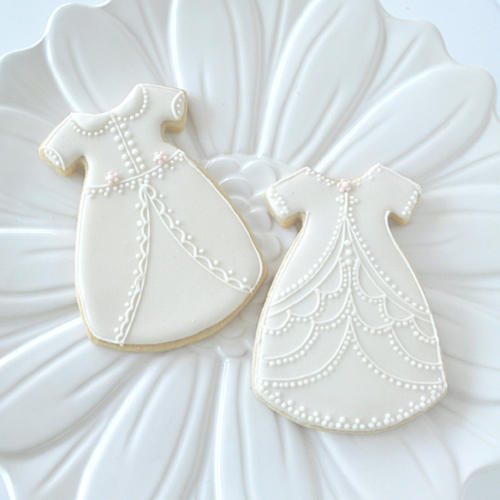 Christening Gown Cookies Cookie Connection