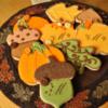 Pumpkins, Leaves, Acorns and Fall Plaque Cookies