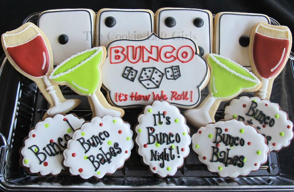 bunco cookies