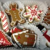Winter Gingerbread Cookie Set