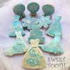 Ali's Sweet Tooth Birds and Snowflake Wedding Cookies