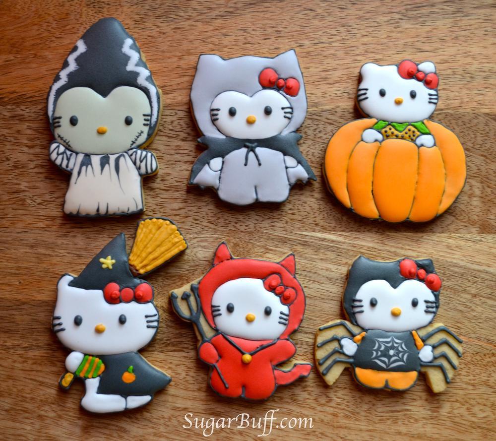 Hello Kitty Halloween   Cookie Connection