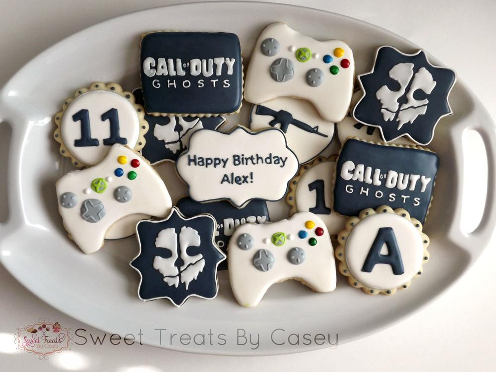 Call Of Duty Ghosts Platter Cookie Connection