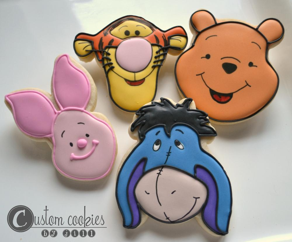 Winnie The Pooh And Tigger Too Cookie Connection