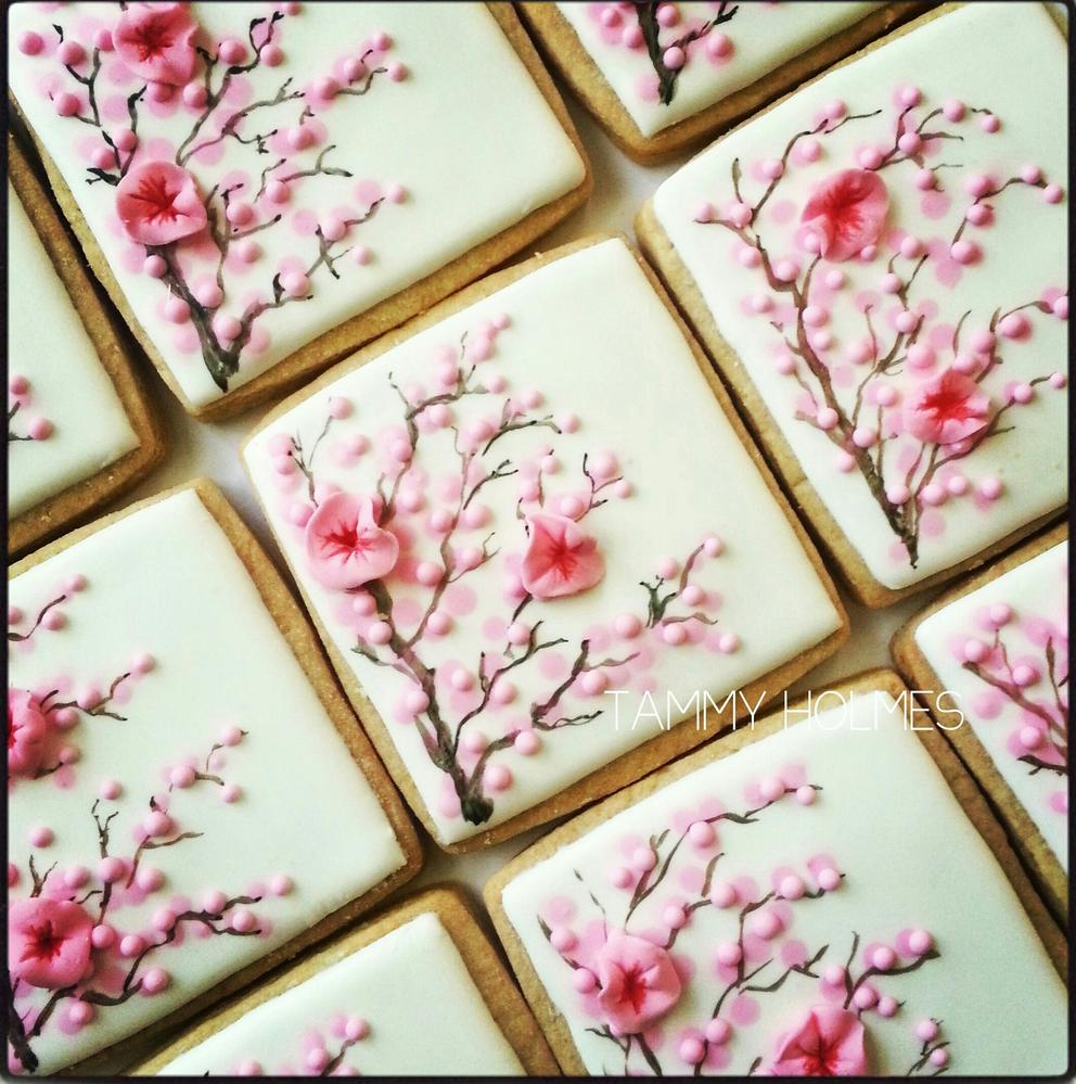 Cherry Blossoms ~ Tammy Holmes