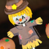 Scarecrow Thanksgiving Cake Pops