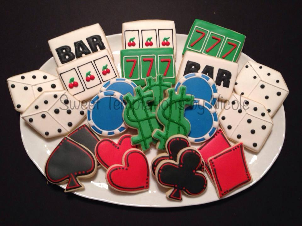 Casino Themed Cookies Cookie Connection