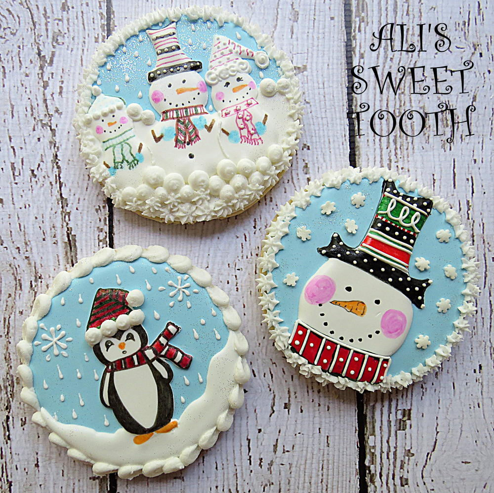 Ali's Sweet Tooth Christmas Cookies