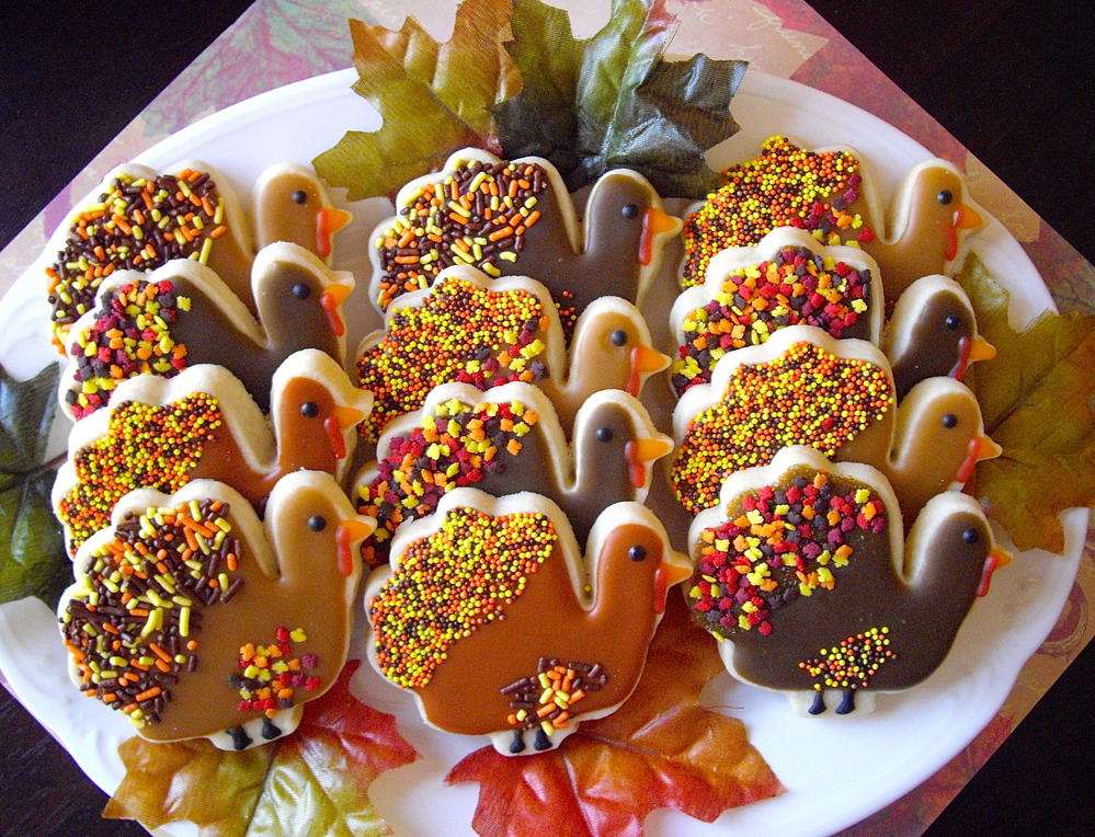 Turkey Platter For A Sweet Tooth