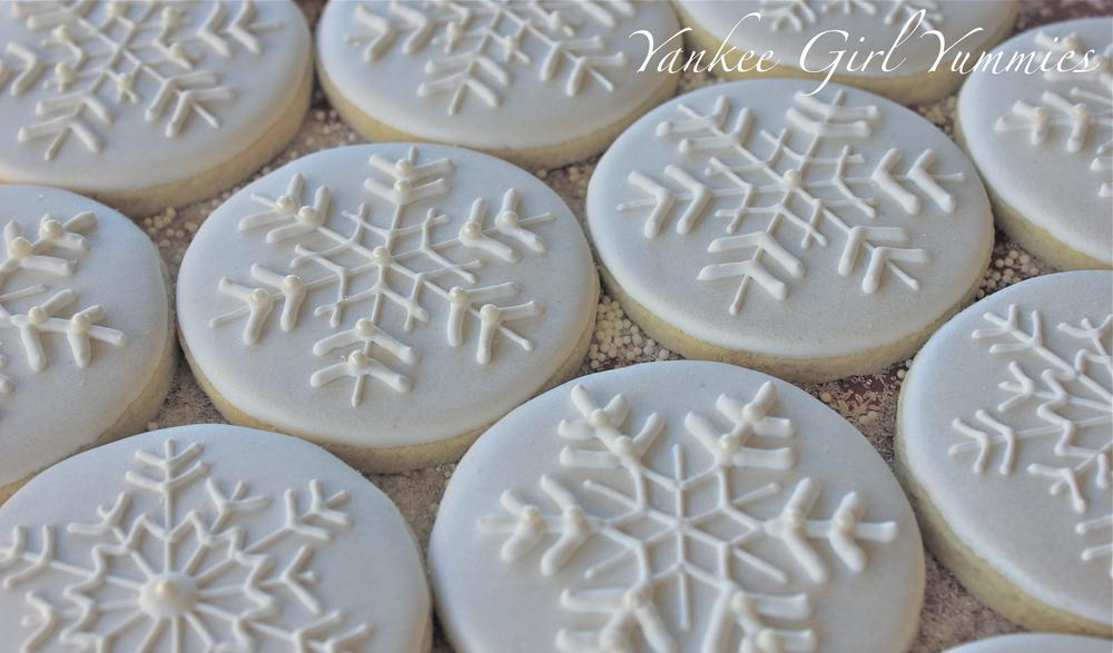 White-on-White Snowflakes