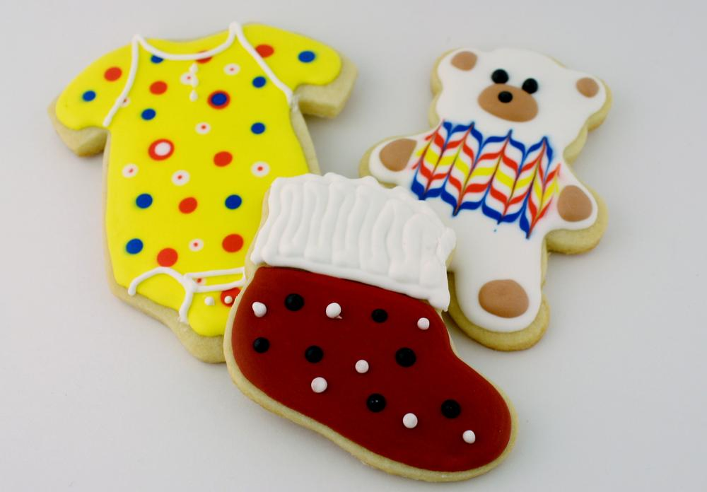 The funky baby shower set