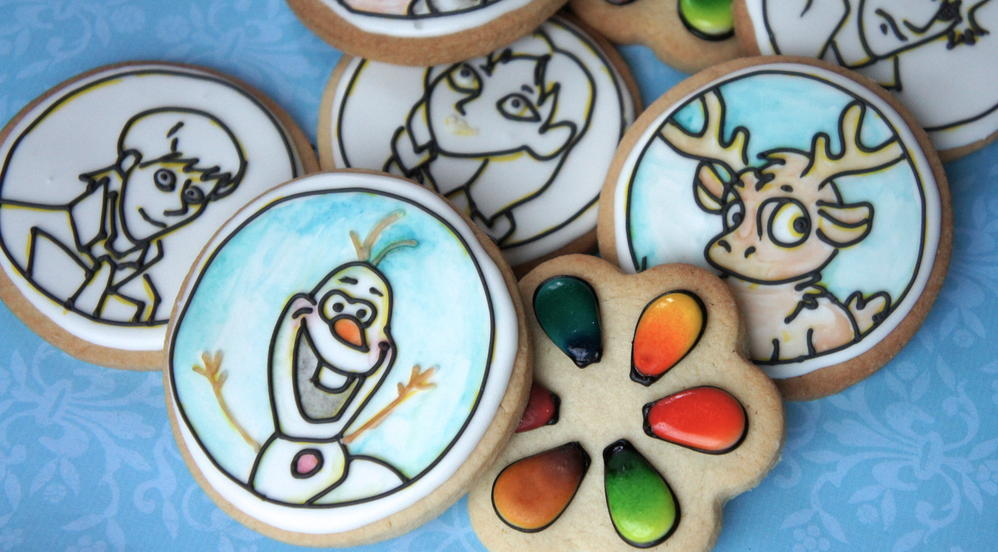 how to make paintable cookies