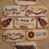 The full Thanksgiving Cookie set