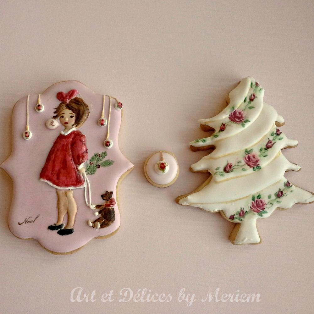 Day 2 - Vintage Christmas Cookies Set