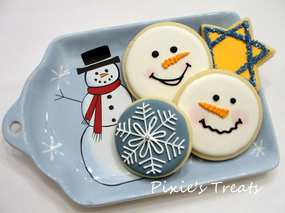 Hanukkah Snowmen