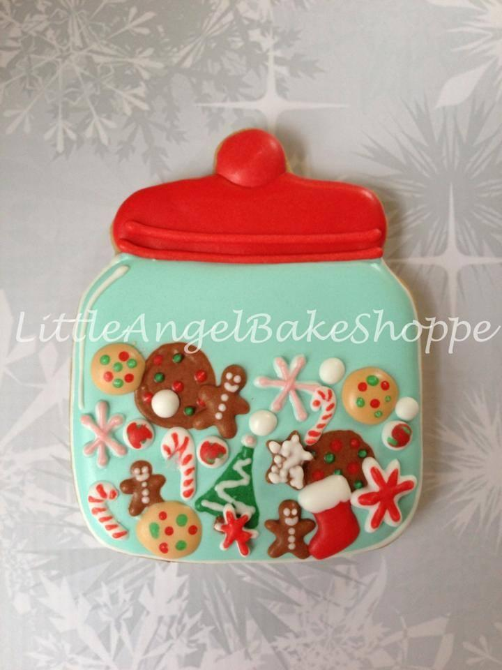 Christmas Cookie Jar Cookie Connection