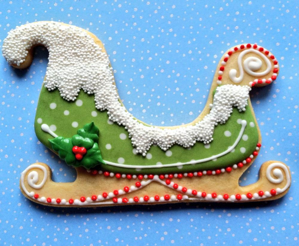 Festive Sleigh Cookie Connection
