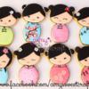 Chinese Kokeshi dolls