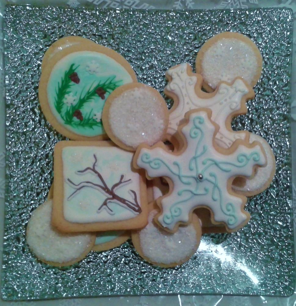 Christmas Cookies: First Snow
