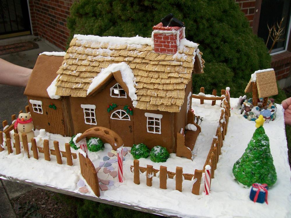 Brick House Chocolate Cake