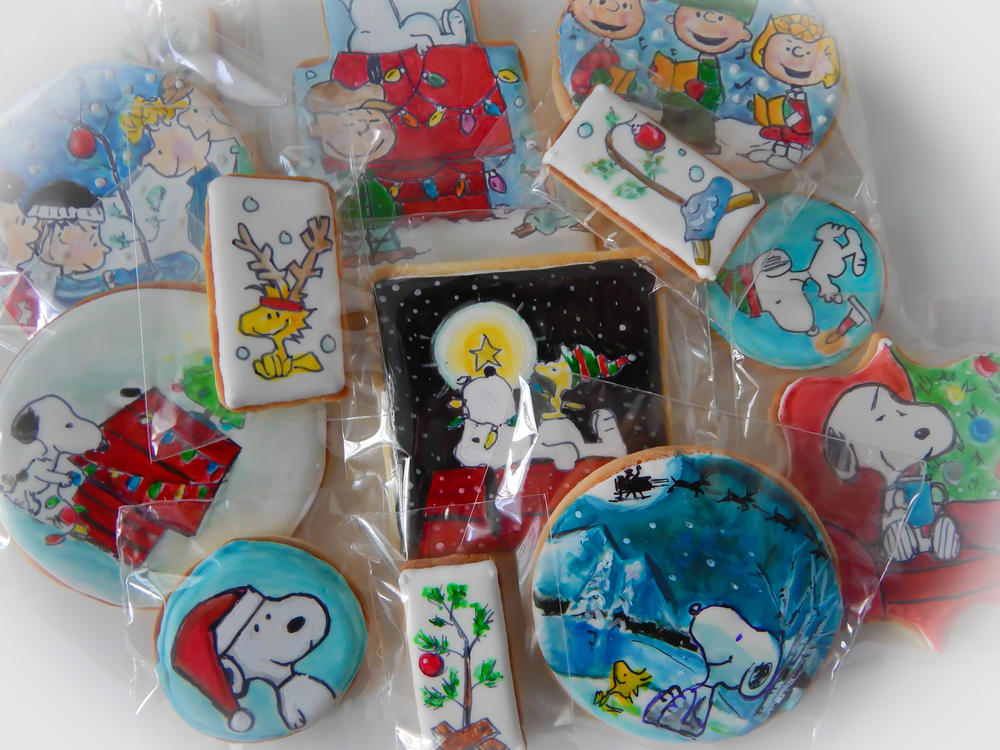 Charlie Brown Snoopy Christmas Cookies Cookie Connection